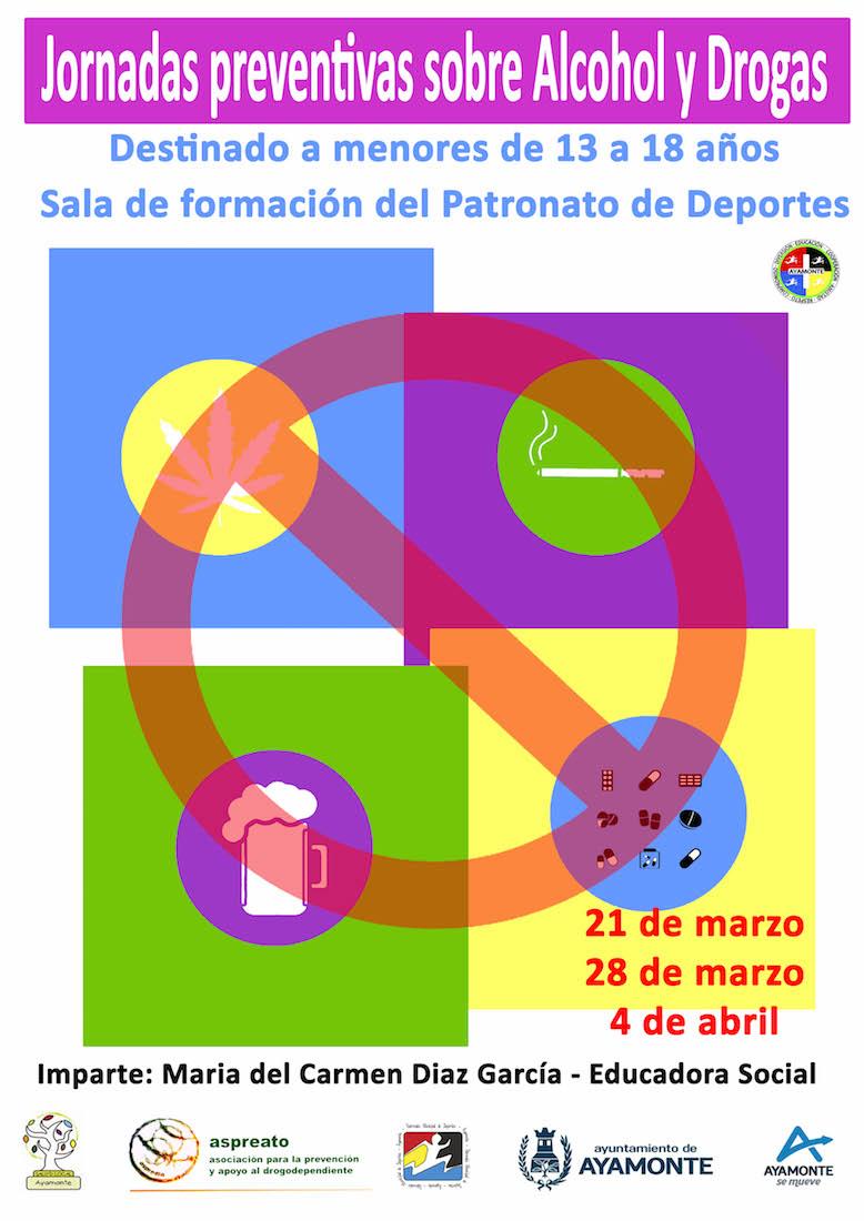 Jornada de prevención de alcohol y drogas