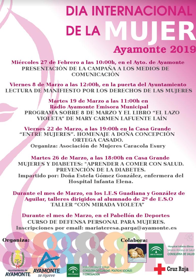 programa-dia-internacional-de-la-mujer-ayamonte-2019