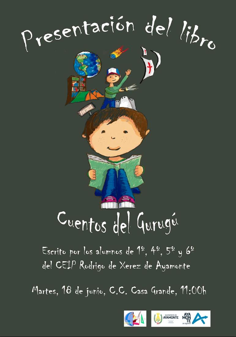 Presentacion del libro Cuentos de Gurugú