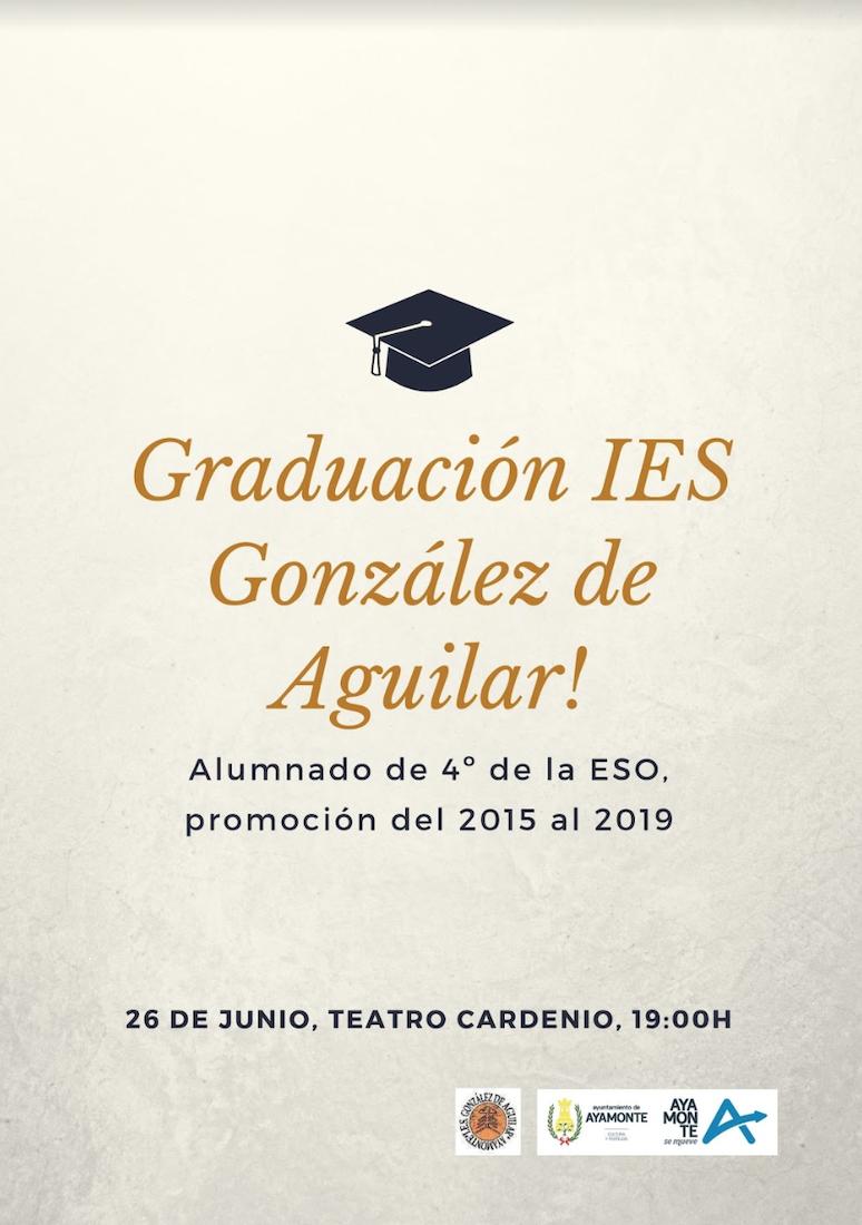 Fiesta Graducaion IES GOnzalez Aguilar de Ayamonte