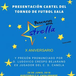 """Torneo de futbol sala """"Buscamos una Estrella"""""""