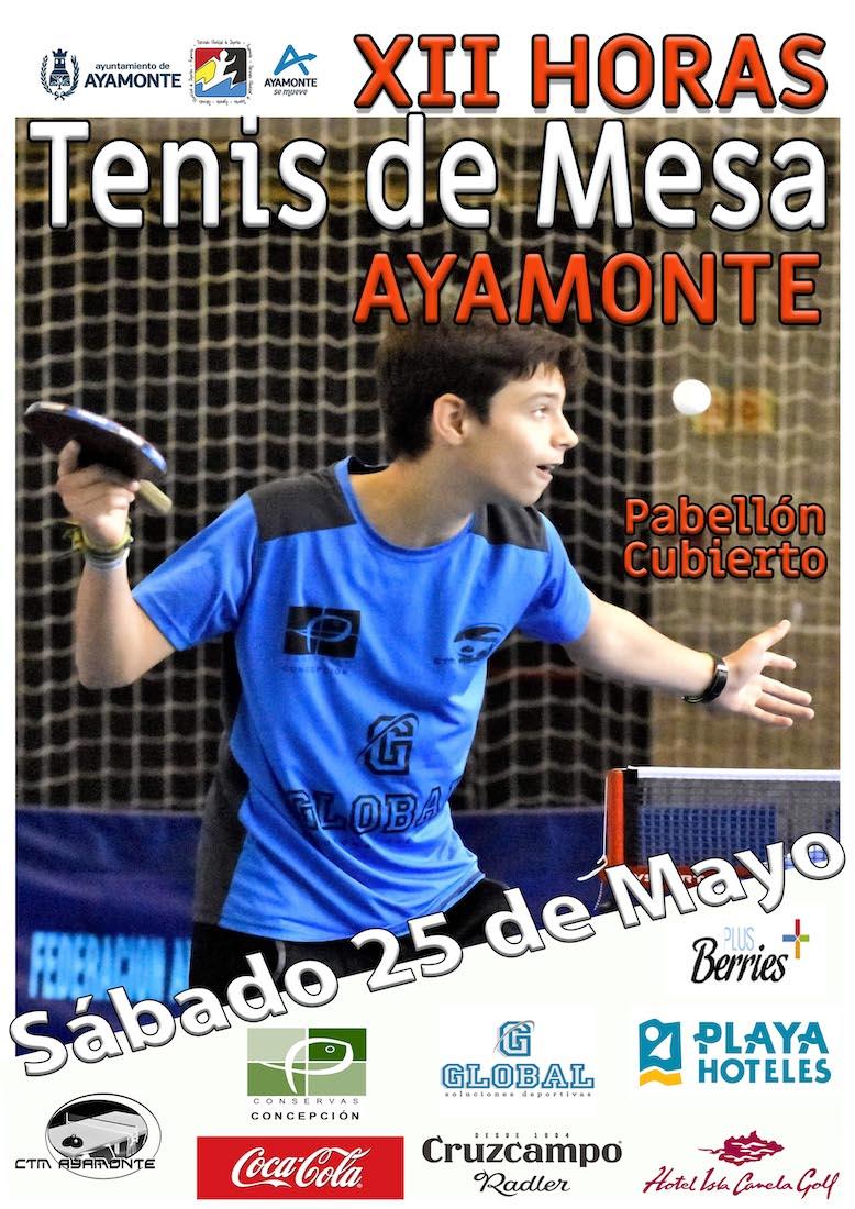 12 horas de Tenis de Mesa de Aymonte