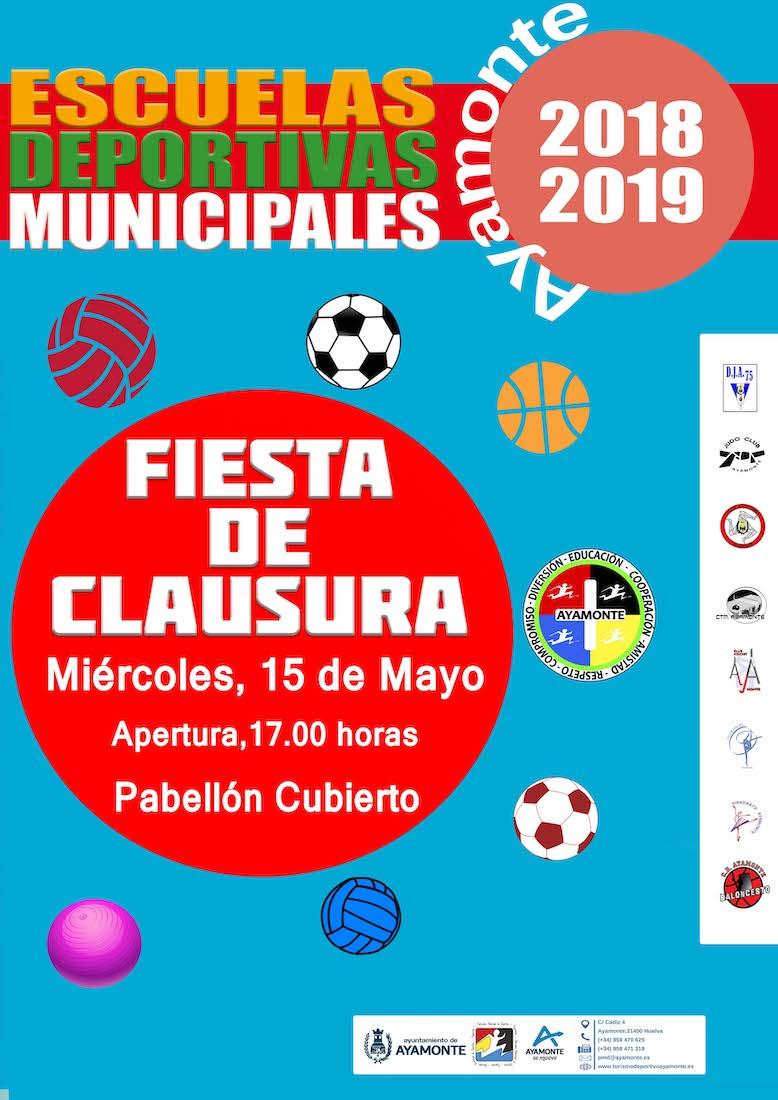 Fiesta Clausura de las EEDDMM 2018-2019 Ayamonte
