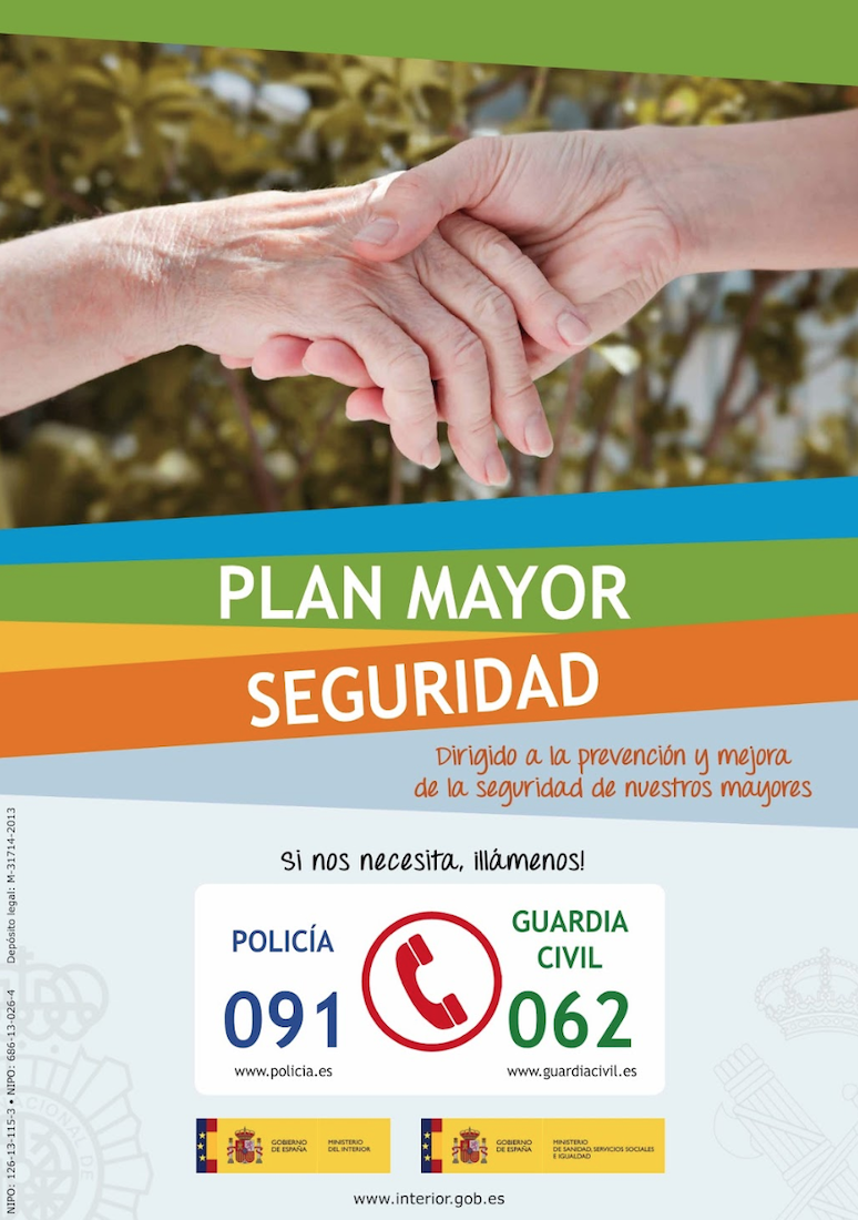 "Charla Guardia Civil sobre ""Plan Mayor Seguridad"""