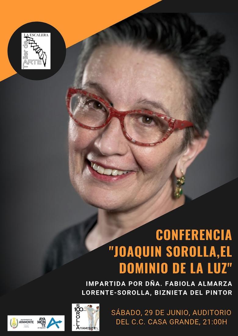 Conferencia sobre Joaquín Sorolla en Ayamonte