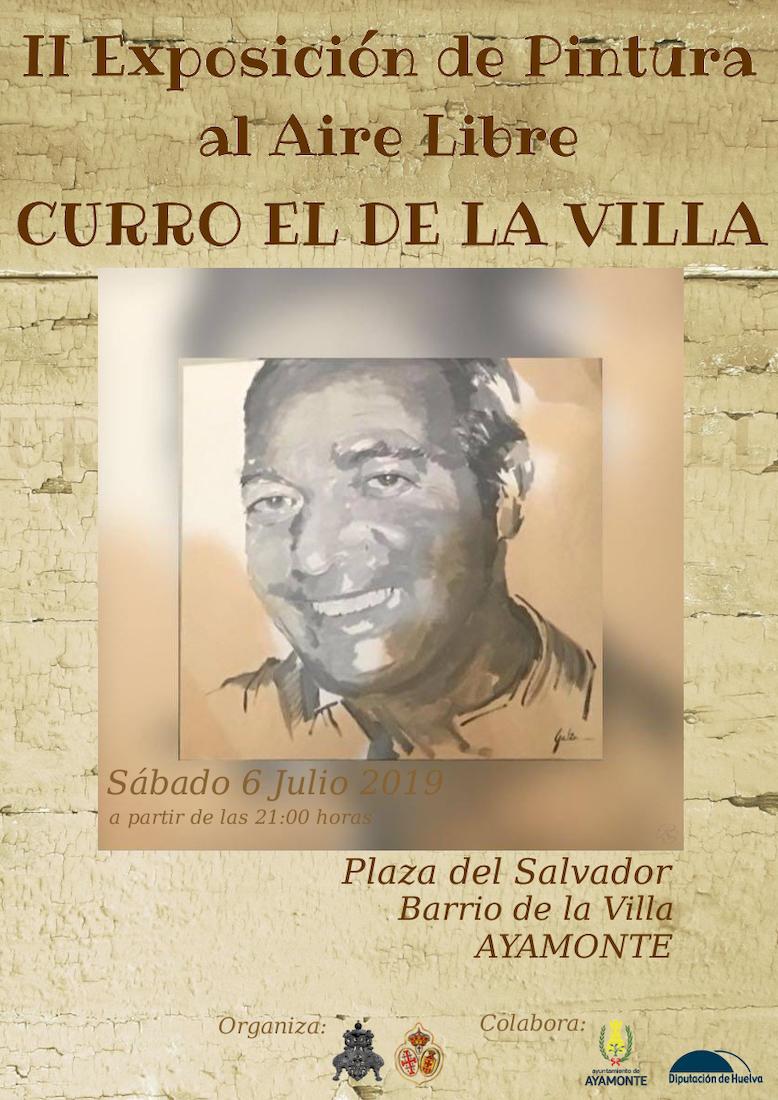 II Exposición de pintura Curro de la Villa en Ayamonte