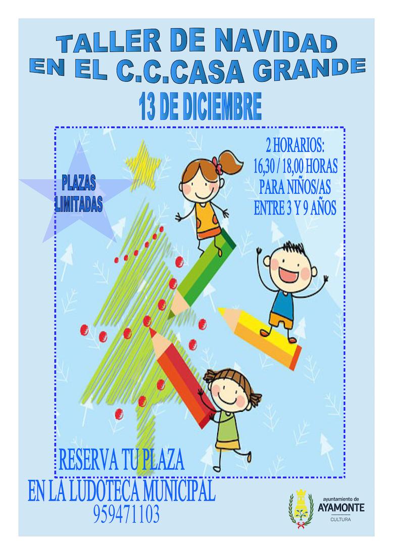 taller-navidad-niños-ayamonte-2019